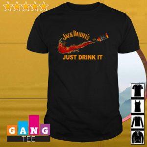 Jack Daniel's just drink it Nike shirt