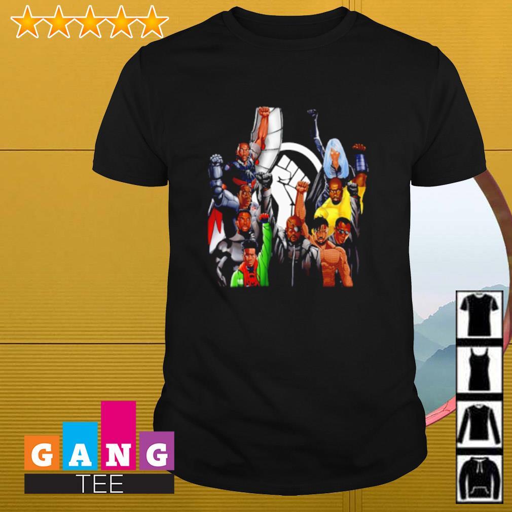 Superheroes no justice no peace shirt