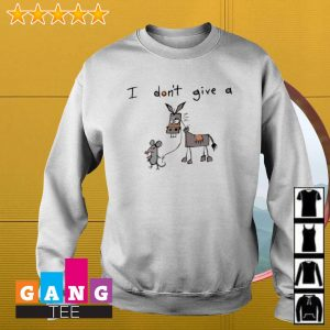 I Don't Give A Mouse Walking Donkey s Sweater