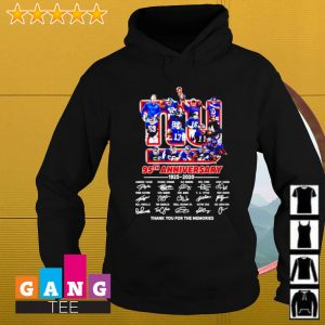 New York Yankee 95th anniversary 1925-2020 signature thank you for the memories s Hoodie