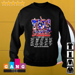New York Yankee 95th anniversary 1925-2020 signature thank you for the memories s Sweater