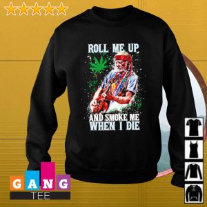 Willie Nelson Roll me up and smoke me when i die s Sweater