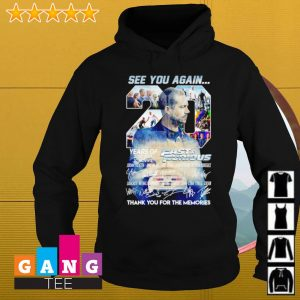 0 years of Fast and Furious 2001-2021 10 movies thank you for the memories s Hoodie