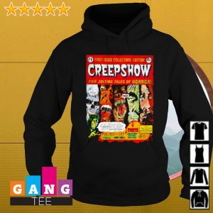First issue collectors edition creepshow five jolting tales of horror s Hoodie