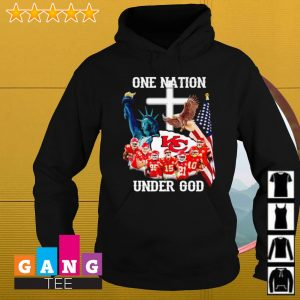 Kansas City Chiefs one nation under God s Hoodie