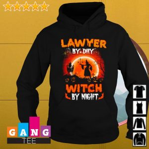 Lawyer by day witch by night Halloween s Hoodie