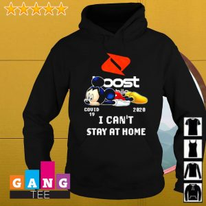 Mickey mouse covid 19 2020 i can't stay at home s Hoodie