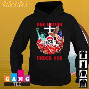 Ohio State Buckeyes one nation under God s Hoodie