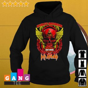 Skull Harley Davidson Motor s Hoodie