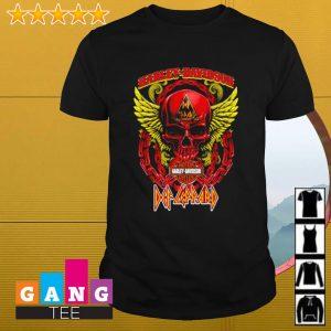 Skull Harley Davidson Motor shirt