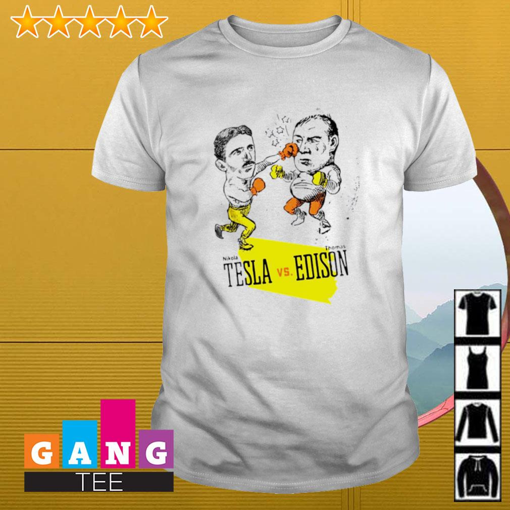 Boxing Nikola Tesla Vs Thomas Edison shirt