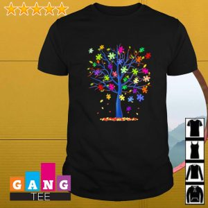 Official Autism tree shirt
