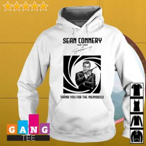 007 Sean Connery 1930 2020 thanks for the memories s Hoodie