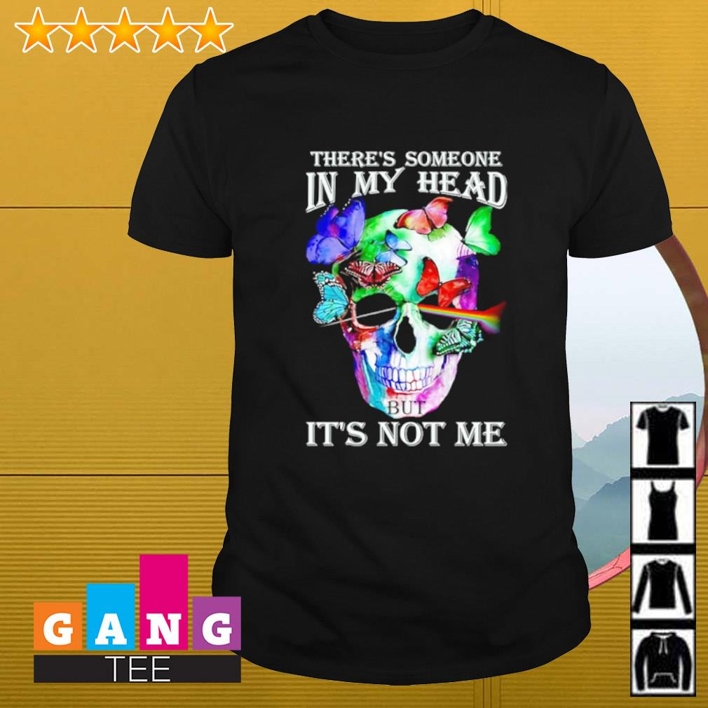 Pink Floyd band there's someone in my head but it's not me shirt