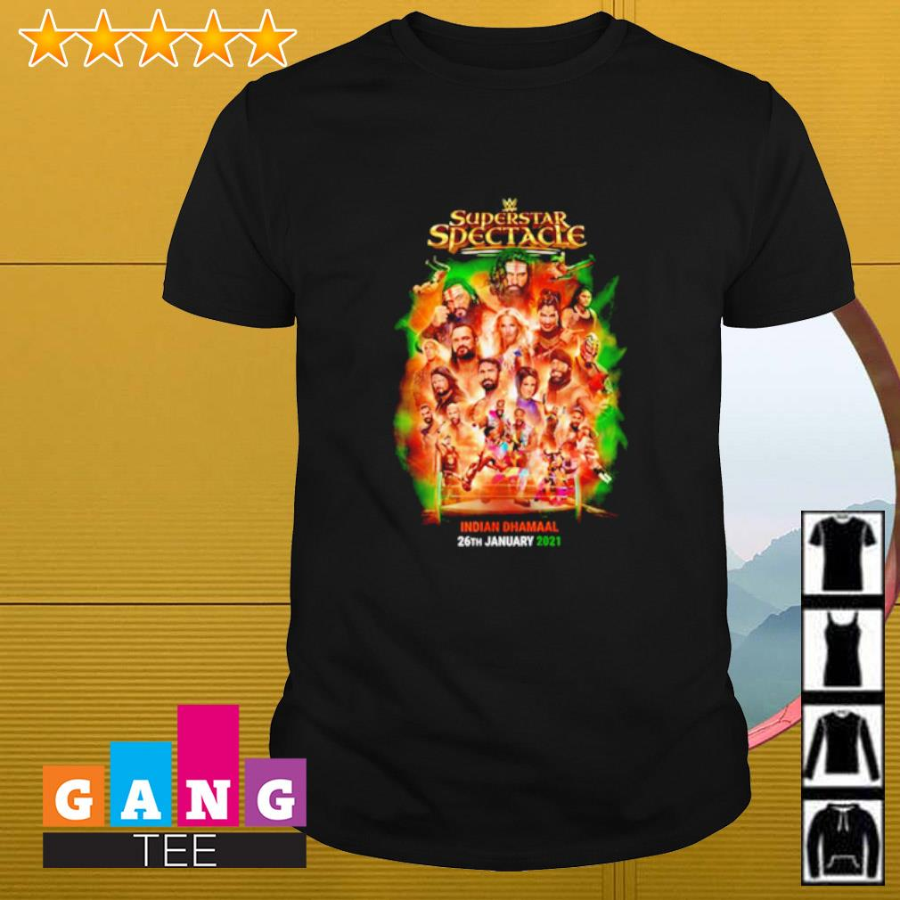 Superstar Spectacle Indian Dhamaal 26th January 2021 shirt