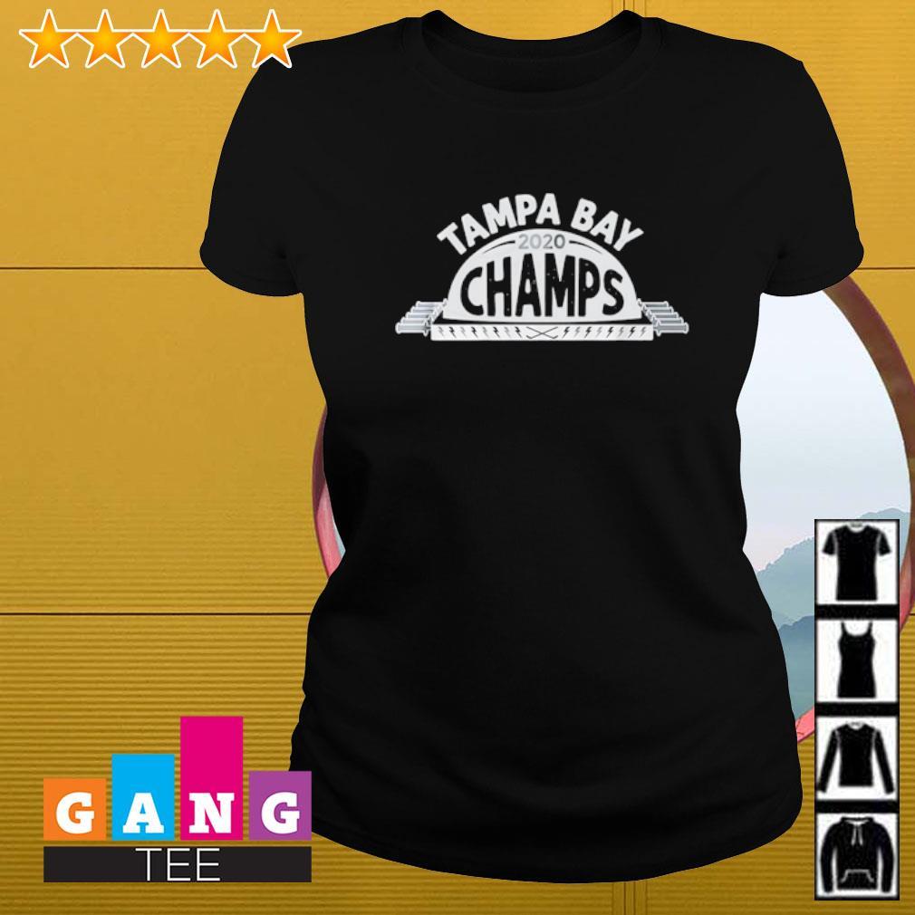 Tampa Bay Lightning 2020 Champions s Ladies-tee