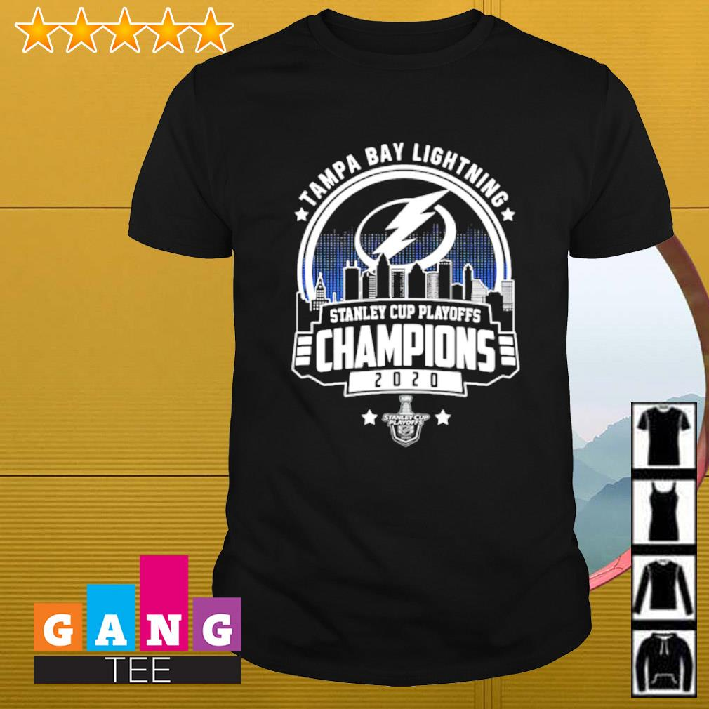 Tampa Bay Lightning stanley cup playoff Champions 2020 shirt