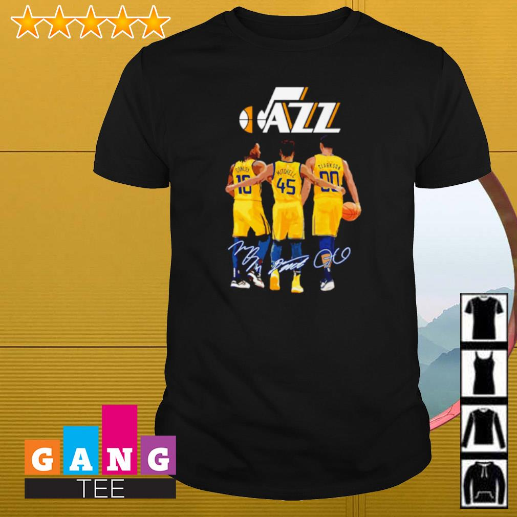 Utah Jazz Mike Conley Jr. Donovan Mitchell and Jordan Clarkson signature shirt