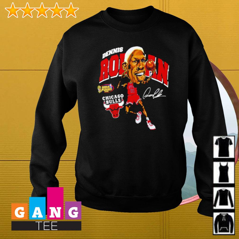 Dennis Rodman Chicago Bulls signature Sweater