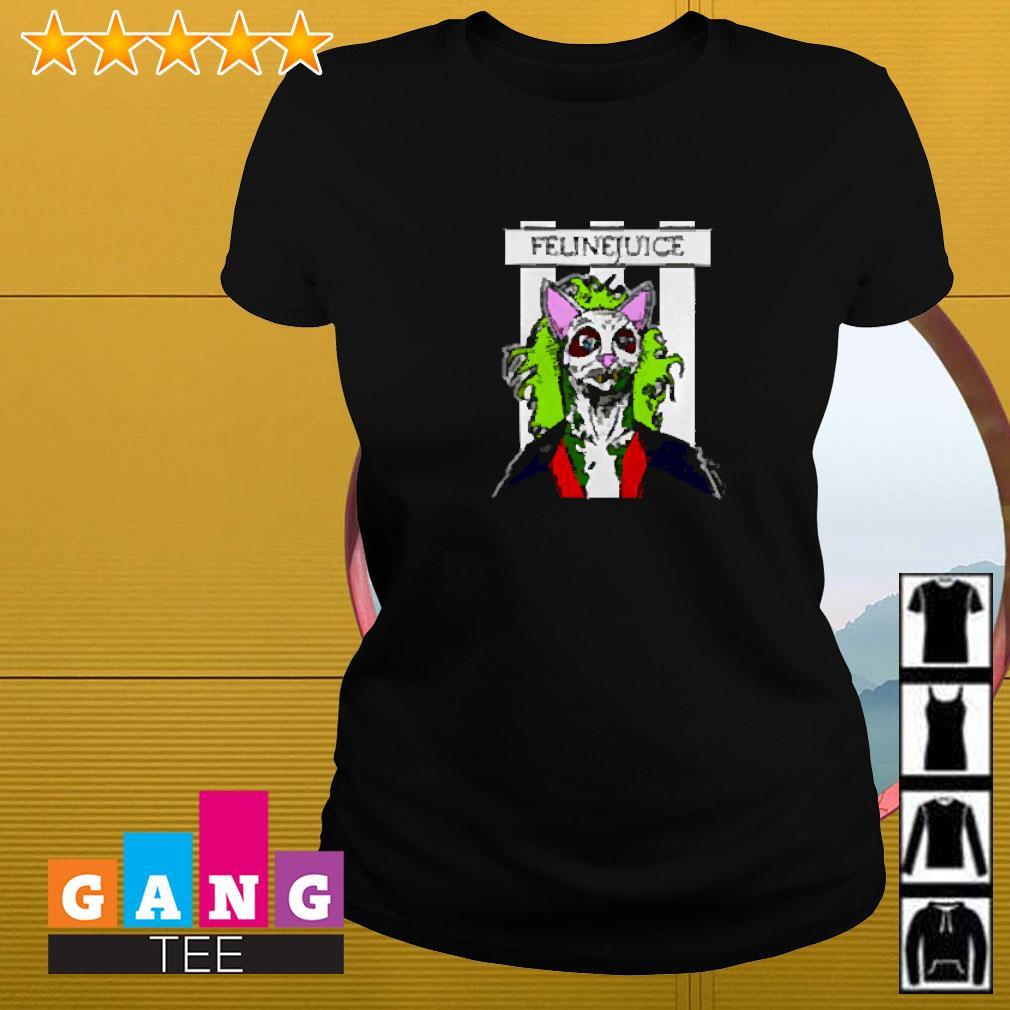Joker cat Felinejuice Ladies-tee