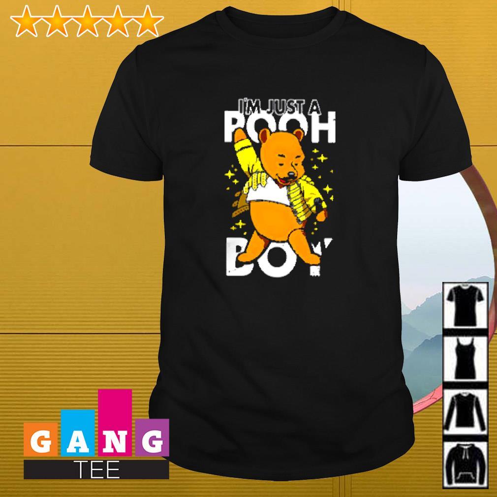 Pooh I'm just a pooh boy shirt