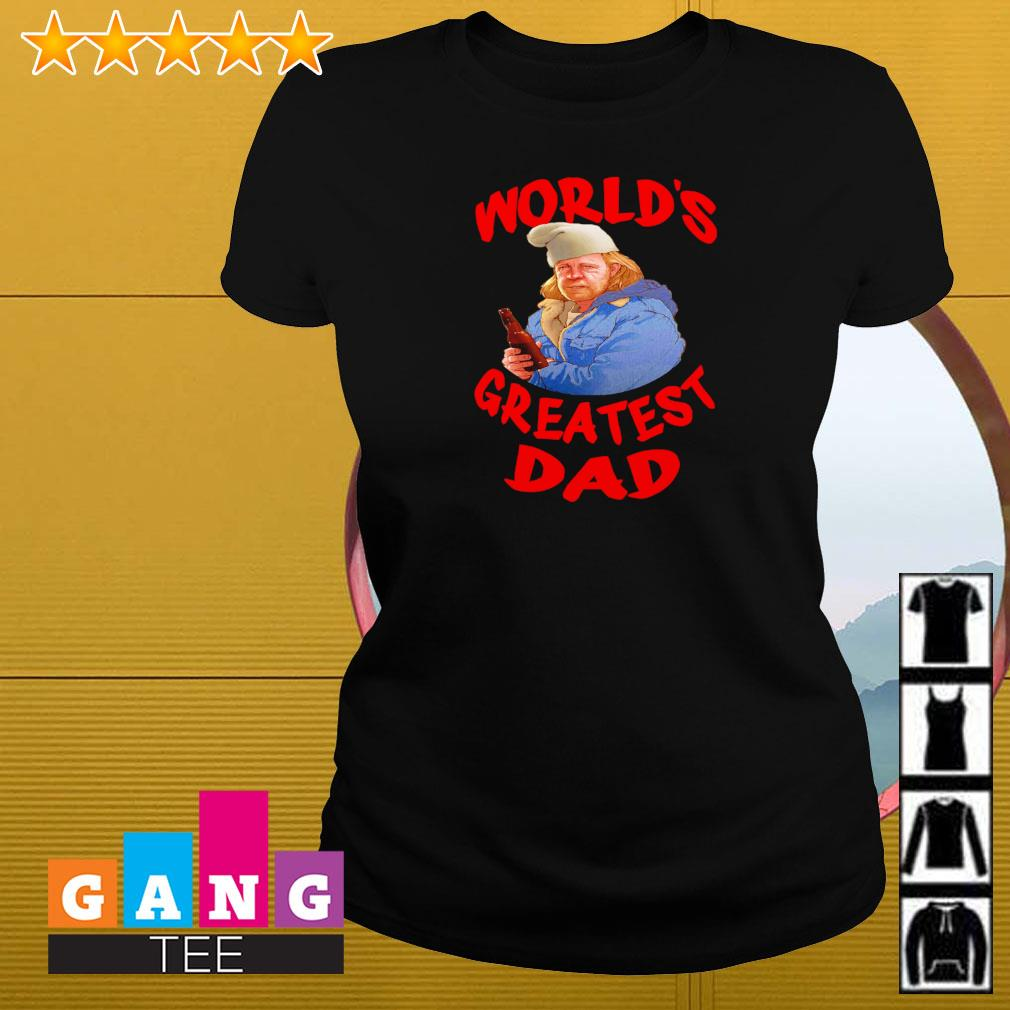 Shameless World's greatest dad Ladies-tee