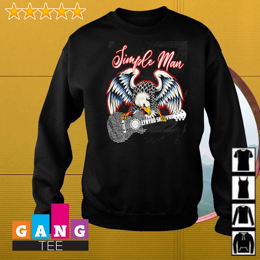 Simple man eagles guitar Lynyrd Skynyrd Sweater