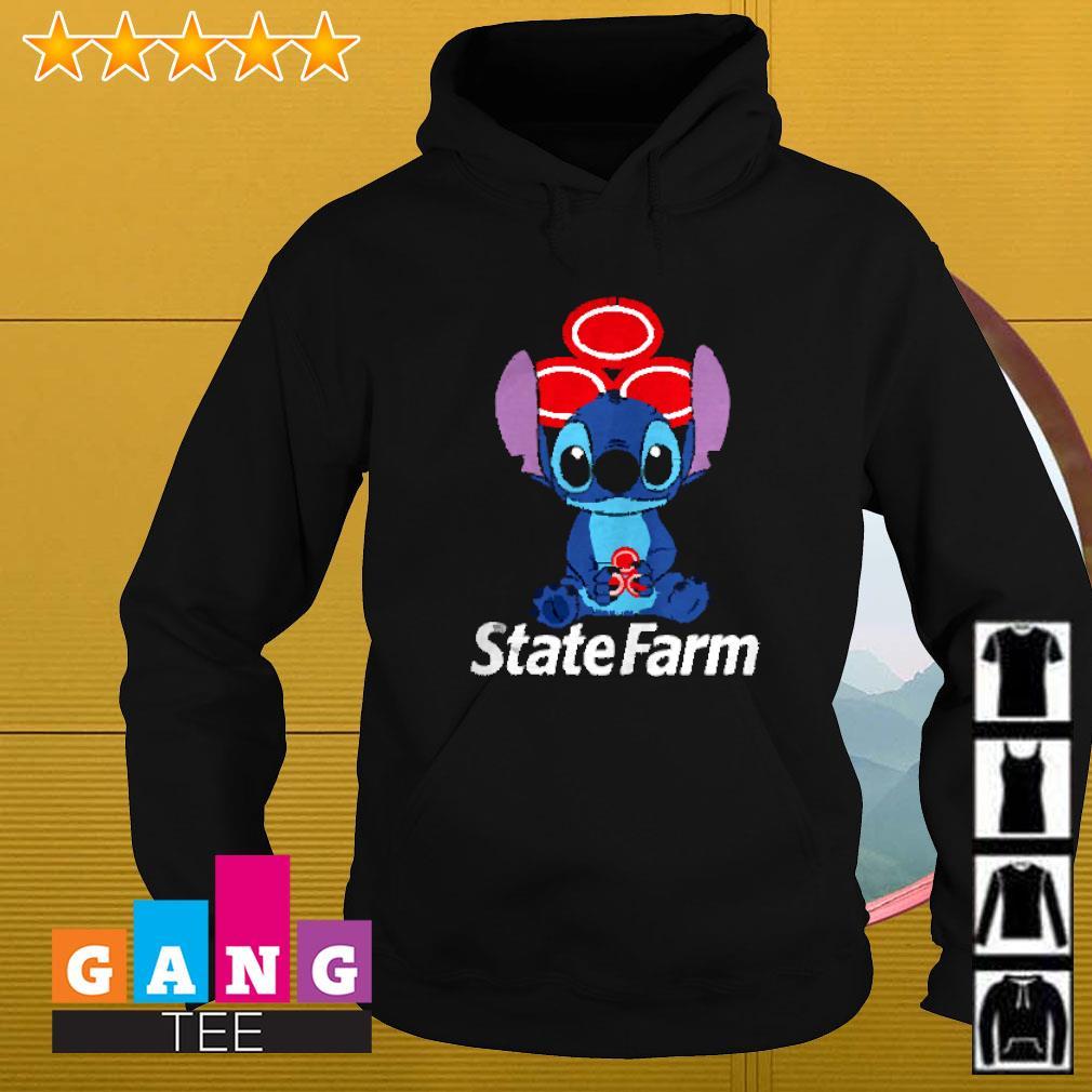 Stitch hug State Farm Hoodie