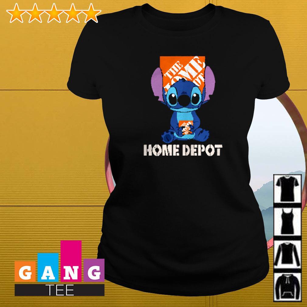 Stitch hug The Home Depot Ladies-tee
