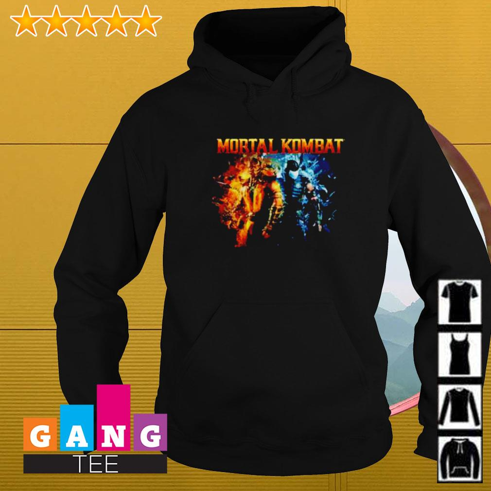The Game Mortal Kombat Scorpion and Subzero Hoodie