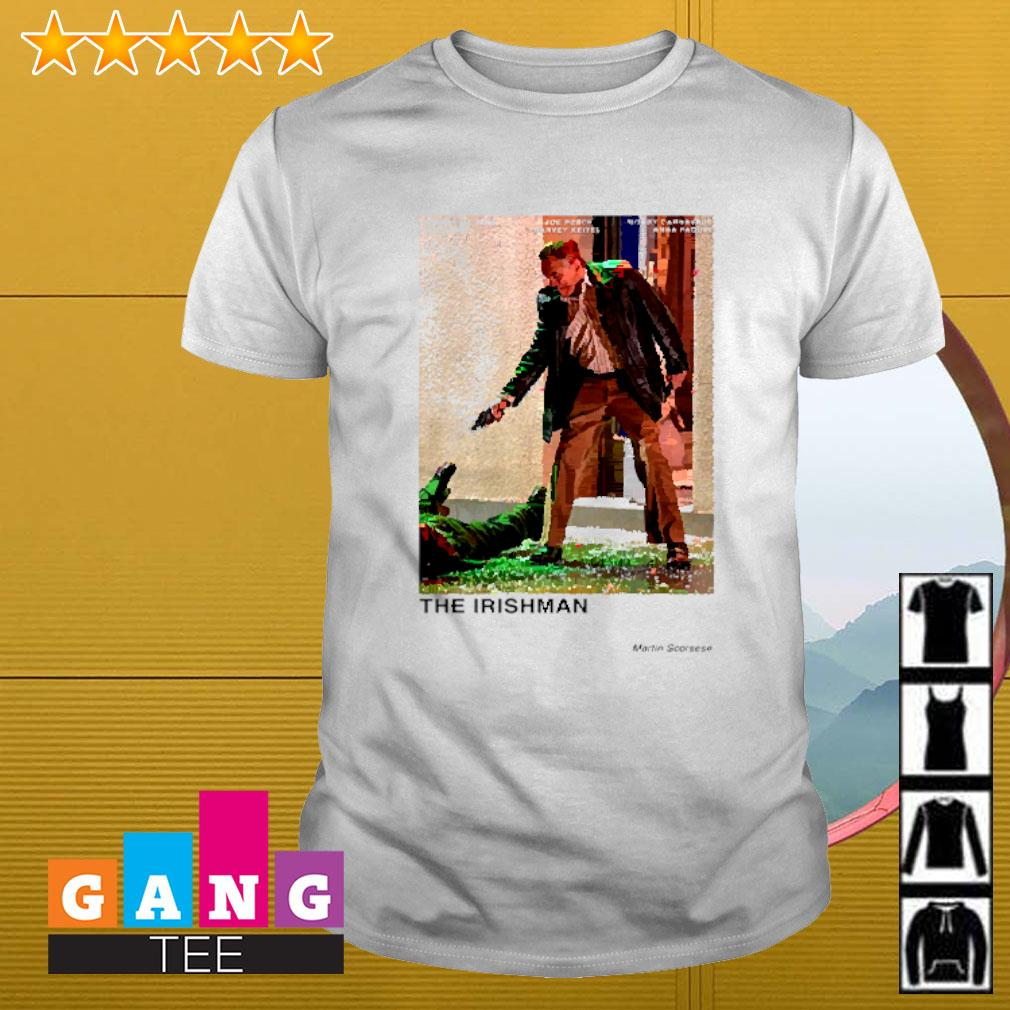 The Irishman Martin Scorsese shirt