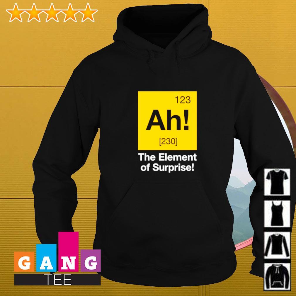 Ah! The element of surprise Hoodie
