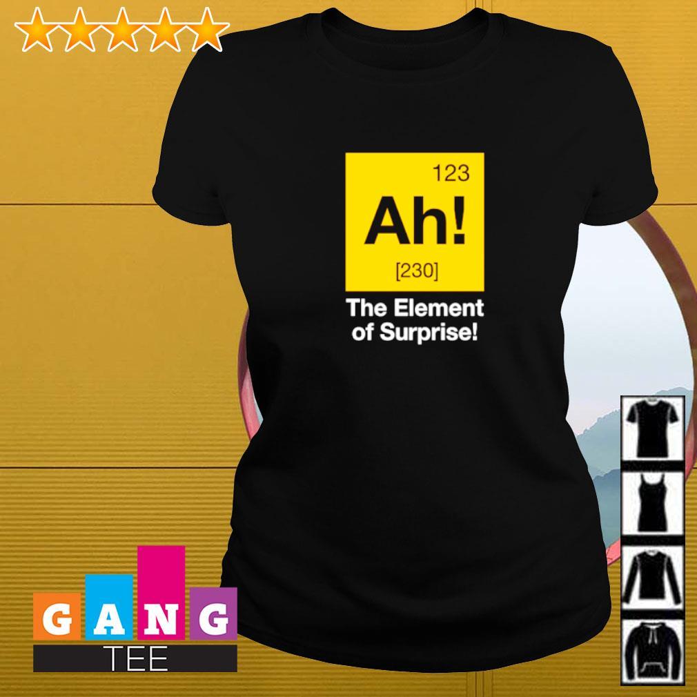 Ah! The element of surprise Ladies-tee