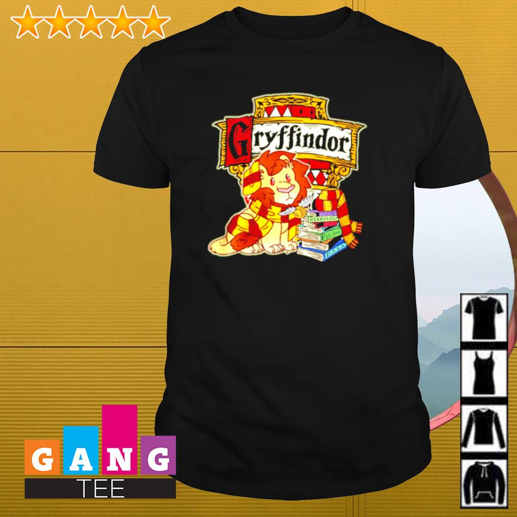 Gryffindor Lion and book shirt