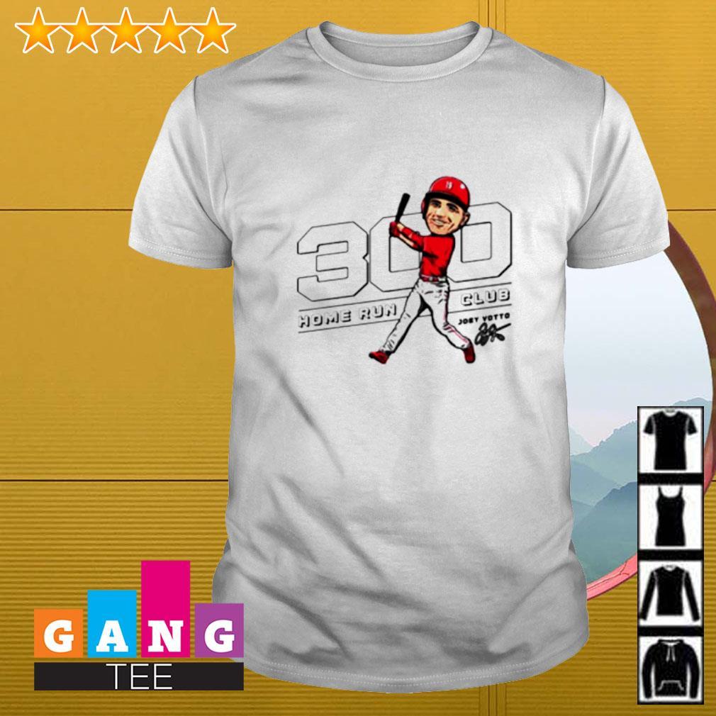 Joey Votto 300 home run club shirt