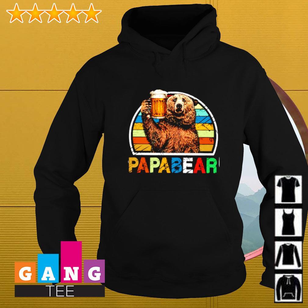 Papabear vintage Hoodie