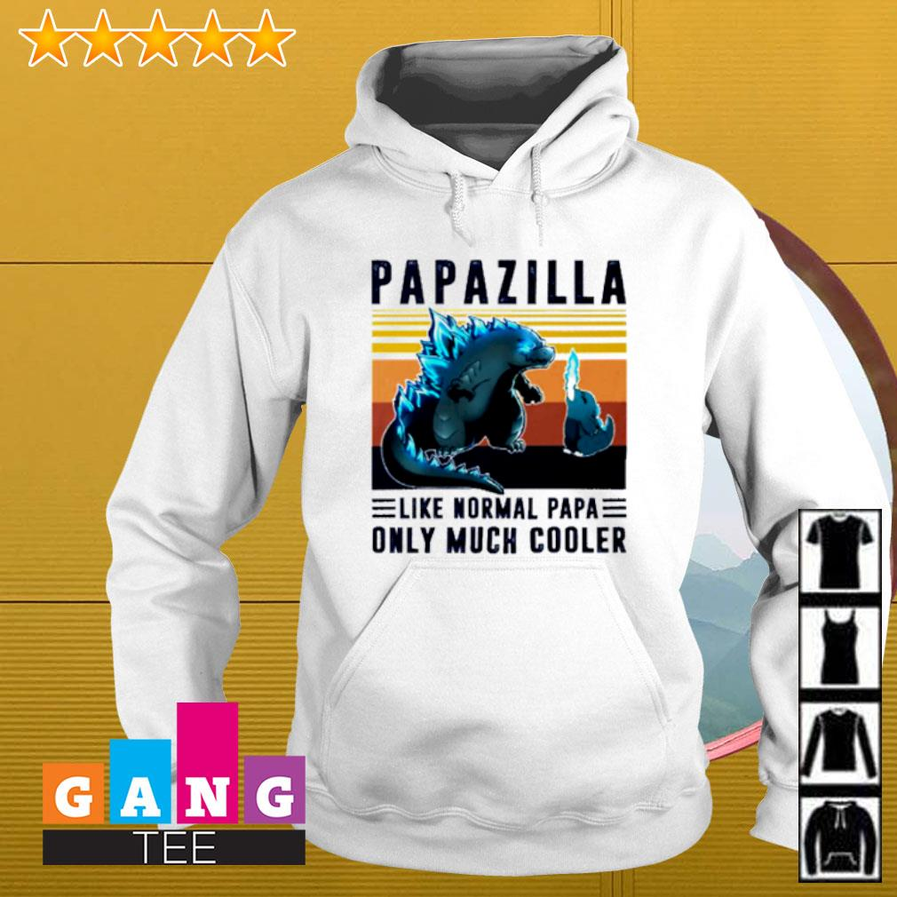 Vintage papazilla like normal papa only much cooler Hoodie
