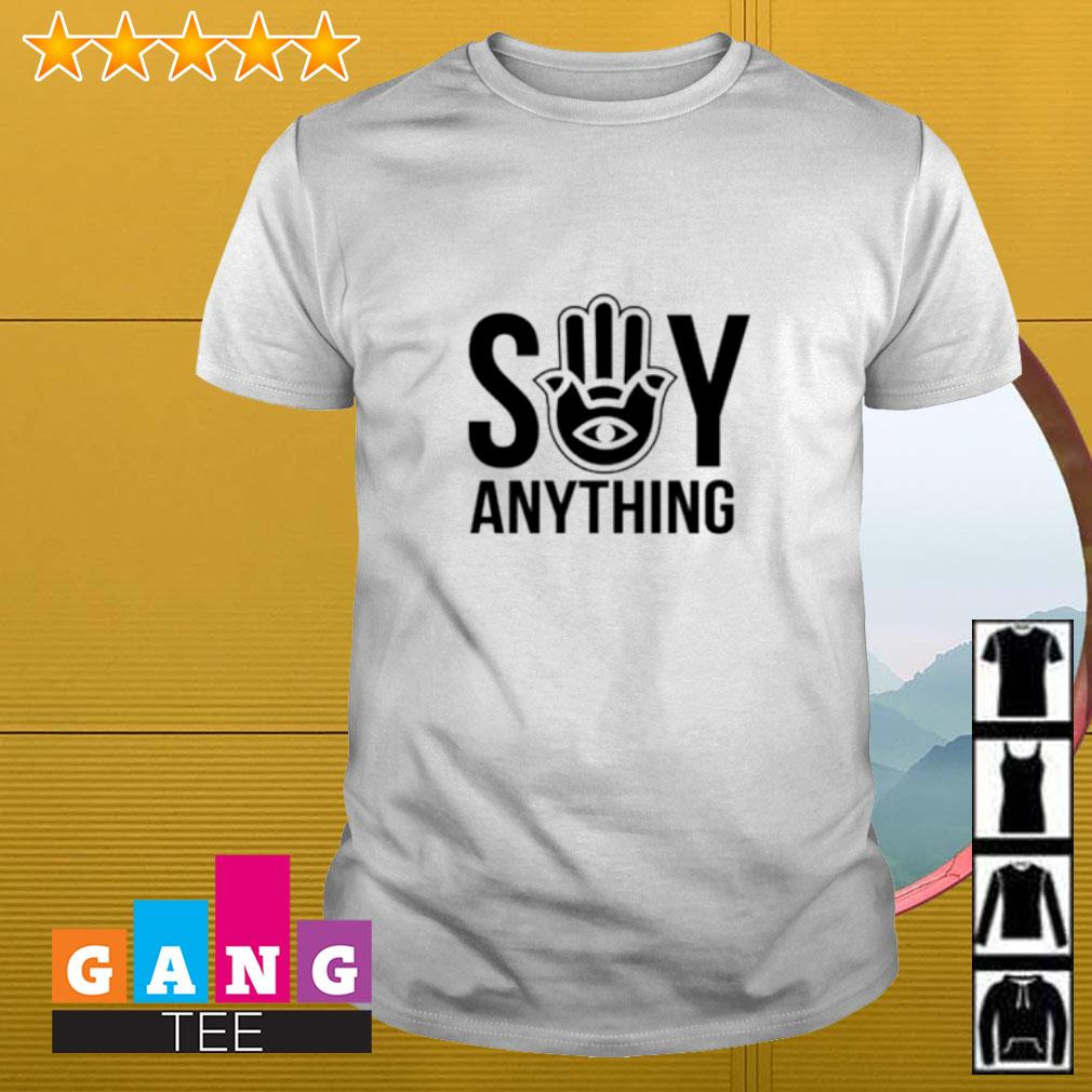 Say anything merch shirt